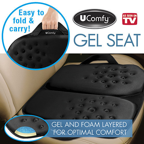 UCOMFY GEL SEAT COMFORT CUSHION NEW
