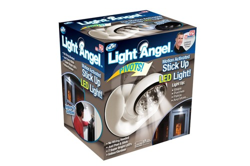 NEW Light Angel Motion Activated Stick Up LED Light As seen on tv