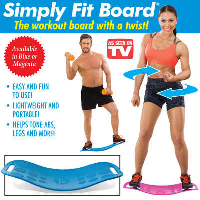Simply Fit Exercise Board with DVD