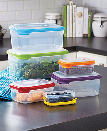 12-Pc. Colorful Food Storage Set